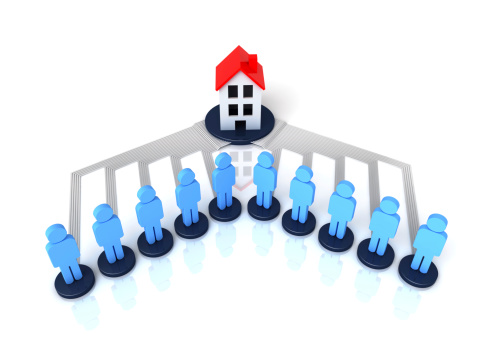 people connected to house