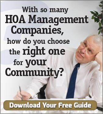 Learn how to choose an HOA Management Company